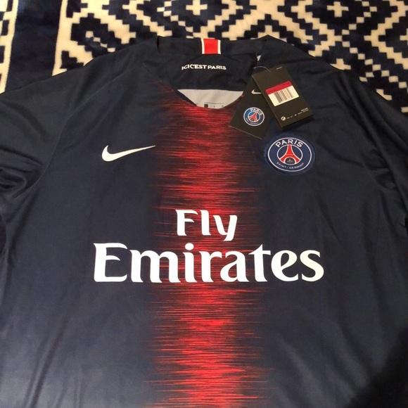 2cf9bc7ae6c Nike Other | 20182019 Psg Soccer Jersey Nwt Neymar | Poshmark